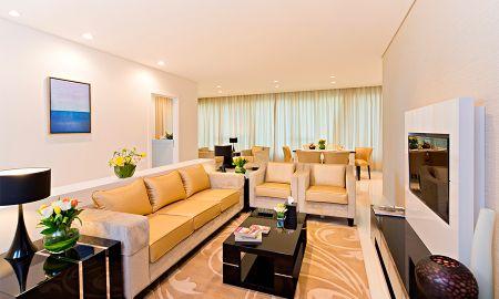 Dreibettzimmer Suite - Stadtblick - DAMAC Maison Canal Views - Dubai