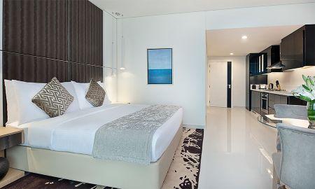 Chambre Deluxe - Vue sur Centre-Ville - DAMAC Maison Canal Views - Dubai