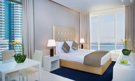Chambre Deluxe - Vue sur Centre-Ville - DAMAC Maison The Vogue - Dubai