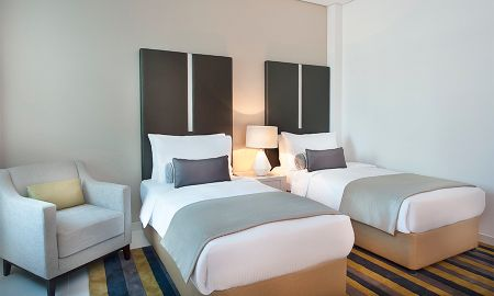 Suite deux Chambres - Vue sur Centre-Ville - DAMAC Maison Cour Jardin - Dubai