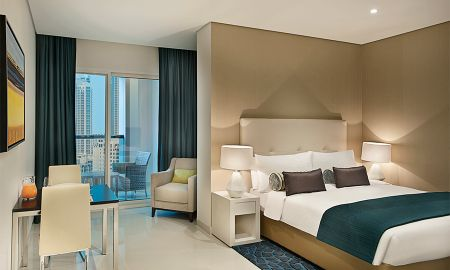 Chambre Deluxe - Vue sur Centre-Ville - DAMAC Maison Cour Jardin - Dubai