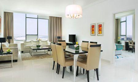 Suite deux Chambres - Vue Ville - DAMAC Maison De Ville Breeze - Dubai