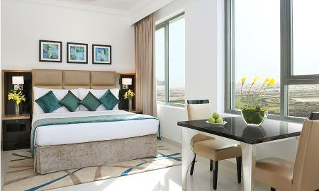 Chambre Deluxe - Vue Ville - DAMAC Maison De Ville Breeze - Dubai