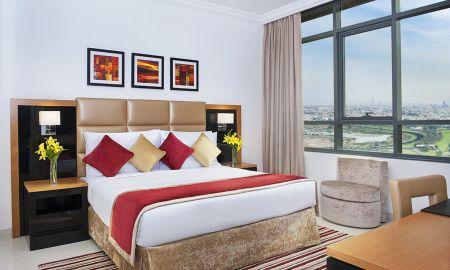 Suite une Chambre - Vue Burj Khalifa - DAMAC Maison De Ville Breeze - Dubai