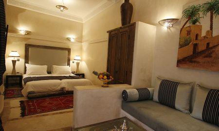Suite Twin - Riad Al Rimal - Marraquexe