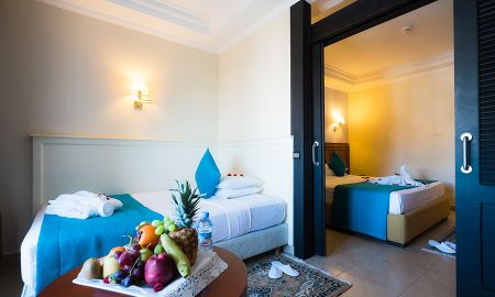 Chambre Familiale Vue Jardin - Aqua Fun Club Marrakech - All Inclusive - Marrakech