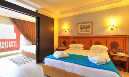 Chambre Familiale Vue Piscine - Aqua Fun Club Marrakech - All Inclusive - Marrakech