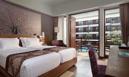 Habitación Deluxe - Vista Piscina - Sun Island Hotel Kuta - Bali