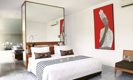 Deluxe Villa mit einem Schlafzimmer - Privat-Pool - Uma Sapna - Bali