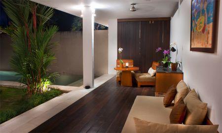 Executive Villa mit einem Schlafzimmer - Privat-Pool - Uma Sapna - Bali