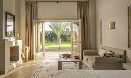 Junior Suite Gartenblick - Domaine Des Remparts Hotel & Spa - Marrakesch