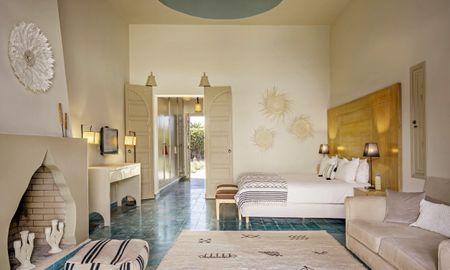 Junior Suite Poolblick - Domaine Des Remparts Hotel & Spa - Marrakesch