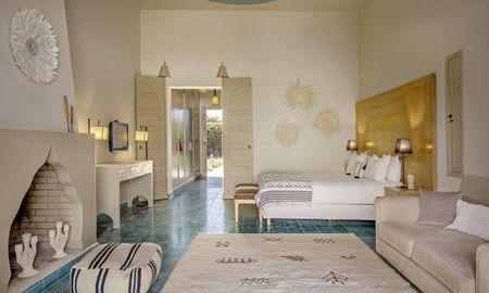 Suite Junior Vista Jardín - Domaine Des Remparts Hotel & Spa - Marrakech