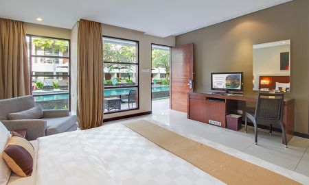 Chambre Deluxe avec Terrasse et Piscine - Amadea Resort And Villas - Bali