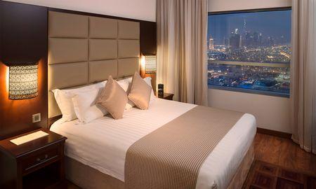 Skyline - Economy Zimmer - Majestic City Retreat - Dubai