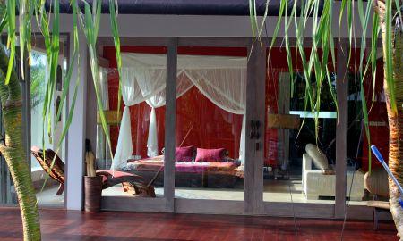 Deluxe Zimmer Terrasse - Pandawas Villas - Bali