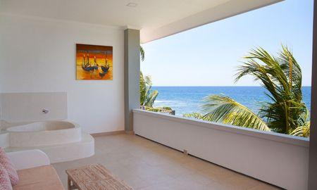 Habitación Doble luxe - Vista Mar + Bañera en Veranda - Bondalem Beach Club - Bali