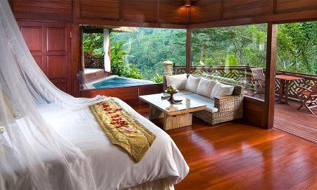 Villa piscine vue sur la rivière - Kupu Kupu Barong Villas & Tree Spa By L'OCCITANE - Bali