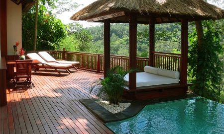 Villa Piscine Familiale avec Deux Chambres - Kupu Kupu Barong Villas & Tree Spa By L'OCCITANE - Bali