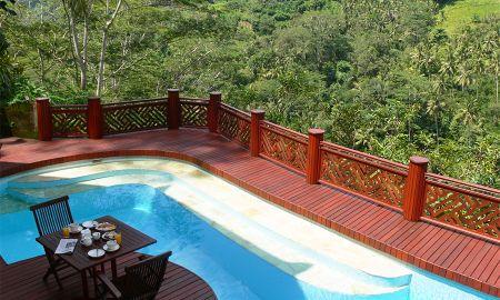 Villa 2 chambres Piscine avec Vue Rivière - Kupu Kupu Barong Villas & Tree Spa By L'OCCITANE - Bali
