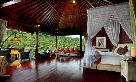 Villa piscine - Face rivière - Kupu Kupu Barong Villas & Tree Spa By L'OCCITANE - Bali