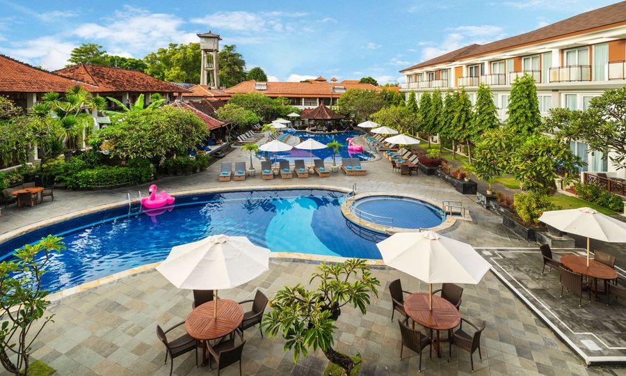 Carte Satellite Bali.Hotel Sol House Bali Kuta Booking Info