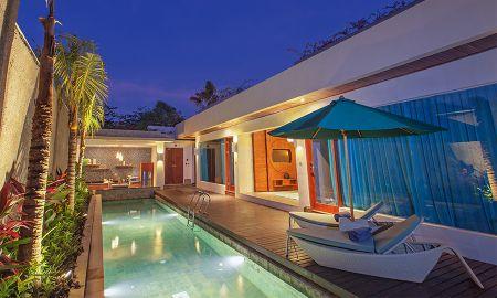 Villa Dos Dormitorios - The Leaf Jimbaran - Bali