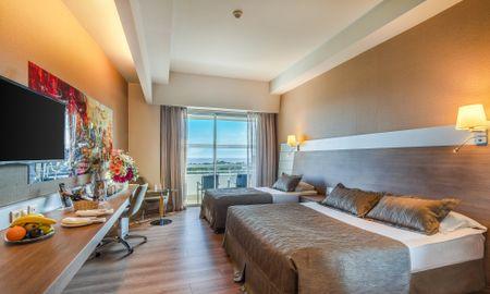 Deluxe Single Room - Sea View - Concorde Deluxe Resort - Antalya