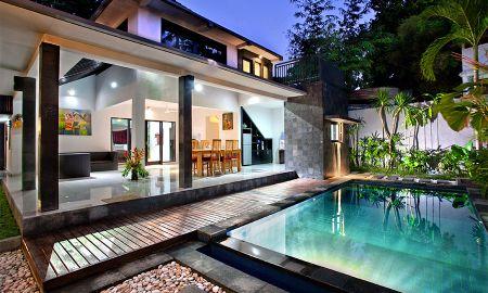 Villa mit Zwei Schlafzimmern und Pool - Samaja Beachside Villas - Bali