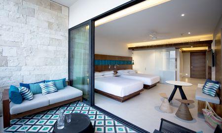 Grand Camera con due letti queen size - Grand Hyatt Playa Del Carmen Resort - Playa Del Carmen