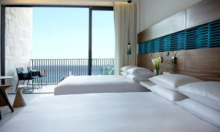 camera vista oceano con due letti queen size - Grand Hyatt Playa Del Carmen Resort - Playa Del Carmen