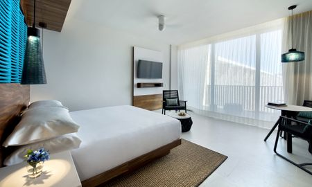 Grand Camera con letto matrimoniale - Grand Hyatt Playa Del Carmen Resort - Playa Del Carmen