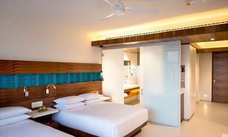 Swim up Camera con letto queen e Accesso Club - Grand Hyatt Playa Del Carmen Resort - Playa Del Carmen