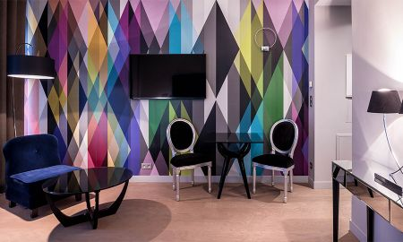 Chambre Rainbow - Rayz Private Suites - Paris
