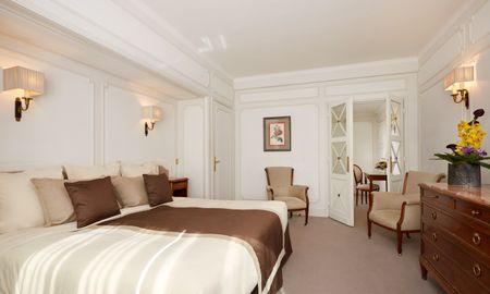 Chambre Executive - Majestic Hotel SPA - Champs Elysées - Paris
