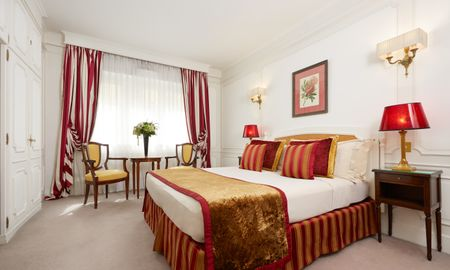 Chambre Deluxe - Majestic Hotel SPA - Champs Elysées - Paris