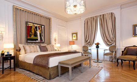 Grande Chambre Deluxe - Majestic Hotel SPA - Champs Elysées - Paris