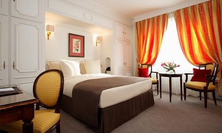 Chambre Deluxe - Accès Gratuit Spa - Majestic Hôtel-Spa - Paris