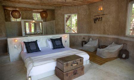 Suite Vue Face à l'océan - Hotel Nomade Tulum - Tulum