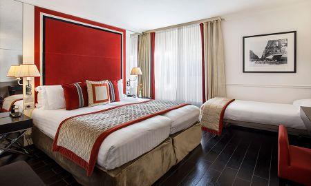 Chambre Triple Deluxe - Hôtel Castille - Paris