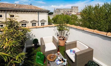 Terrace Privilege Room - Hotel De L'Horloge Avignon - Avignon