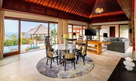 The Ocean - Two Bedroom Ocean View Villa - The Edge Bali Villa - Bali