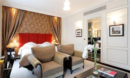 Chambre Deluxe Double - La Tremoille Paris - Paris