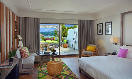 Double Room - Mountain View ( 2 Adults ) - The Nai Harn - Phuket