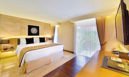 Chambre Deluxe avec Vue jardin - De Vins Sky Hotel Seminyak - Bali