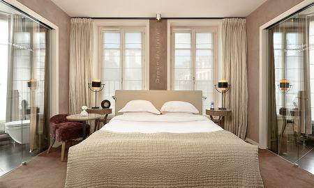 Chambre Deluxe - Le Pavillon Des Lettres - Paris