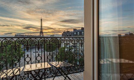 Suite Junior Tour Eiffel - La Comtesse - Paris