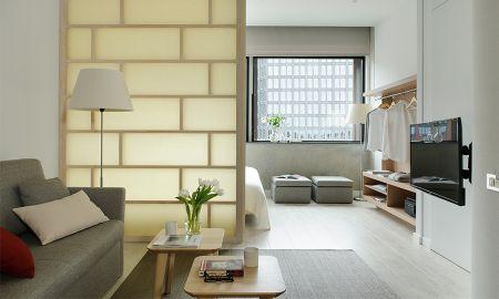 Apartamento Um Quarto - Vista Cidade - Eric Vökel Boutique Apartments - Amsterdam Suites - Amsterdã