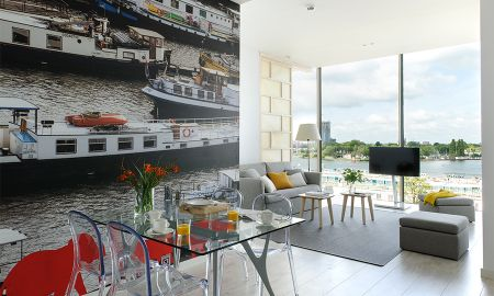 Apartamento Três quartos - Vista ao Rio - Eric Vökel Boutique Apartments - Amsterdam Suites - Amsterdã