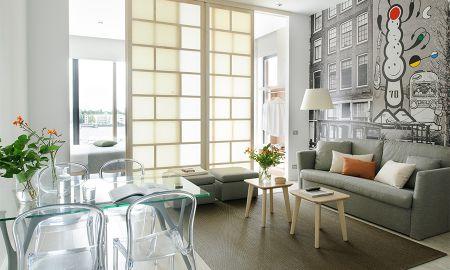 Apartamento de dois quartos - Vista ao Rio - Eric Vökel Boutique Apartments - Amsterdam Suites - Amsterdã